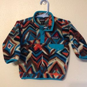 NWOT PATAGONIA Synchilla snap pullover
